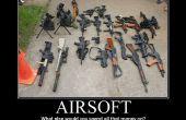 Hoe te kiezen voor een airsoft gun.