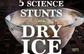 5 fenomenale wetenschap Stunts, gedaan met droog ijs