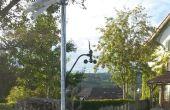 GSM zonne-aangedreven Wind Station