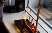 Steampunk lamp.