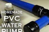 Hoe maak je een PVC-Water / lucht / vacuüm pomp!