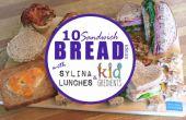 10 manieren om te gebruik SANDWICH brood voor de LUNCH