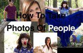 Hoe perfecte foto's van mensen nemen.