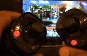 Draadloze Wii Nunchuk-aan-muis USB-Stick voor PC, Mac, en Tablet videospelletjes