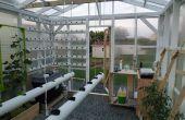 Het Hydroponic Automated, Networking, klimaat gecontroleerde broeikasgassen Project: Bouw