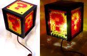 Super Mario Bros. nachtlampje gemaakt van LEGO