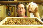 Cat Food trog van Pallet hout