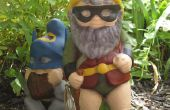 Superheld tuin Gnome Mod