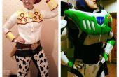 Buzz Lightyear en Jessie de Cowgirl