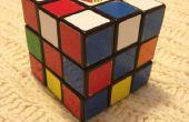 Superflipped Rubik's Cube