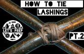 Snelle vaardigheden #5: Hoe te binden zweepslagen - Pt.2 diagonale Lashing