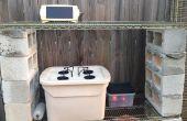 Kleinschalige Outdoor zonne-hydrocultuur systeem