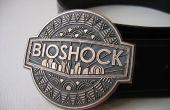 Bioshock riem gesp in brons