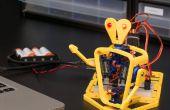 Hoe maak je een mobiele telefoon en Computer gecontroleerd 3D gedrukte Robot met Arduino - IoBot.