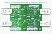 PIËZO-elektrische aangedreven digitale COMBINATORISCHE LOCK met behulp van NXP AXP logica GATES