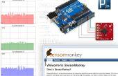 Rijden van een webpagina in realtime met behulp van de Arduino, SensorMonkey en Processing.js