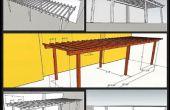 How to Build een eenvoudige achtertuin Pergola