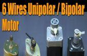 Stepper Motor Basics - 6 draden unipolaire / bipolaire Motor