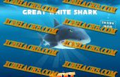 Hongerige haai Gems bedriegt