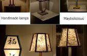 Hoe kan handmade nacht lampen.