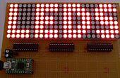 LED is gecontroleerd met behulp van de C#-toepassing en Arduino