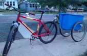 Eenvoudige No-Weld fiets aanhangwagen