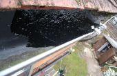 Hoe te repareren van een lekkende goot Unie gezamenlijke (en poly tunnel)