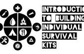 Inleiding tot het bouwen van individuele survival kits
