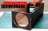 Bouwen van een Smartphone Projector met een schoenendoos