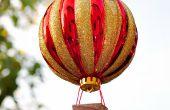 Hoe maak je een hete lucht ballon Ornament