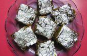Fig & datums Barfi (Indian Sweet). Makkelijk te maken.