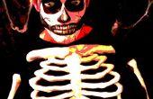 How To Face Paint: De griezelig schedel.