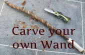Harry Potter toverstaf - Cub Scout Craft Project
