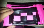 Hoe maak je een verandering zak net op uw Duct Tape Wallet