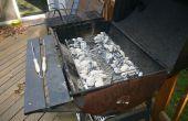 Vervanging houtskool lade of Pan voor een houtskool barbecue