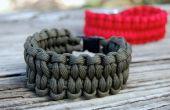 Blaze Bar geweven Paracord armband