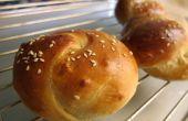 Super zacht en vochtig Chinese bakkerij broodjes
