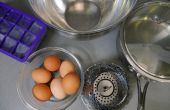 Harde Cook eieren met stoom