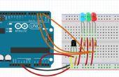 Arduino LED temperatuur Indicator