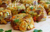 Vulling van muffins