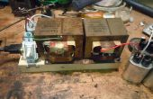 Maak een 240V MOT hoog voltage power supply met 120V transformatoren