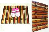 Eenvoudig houten latje Mat /Wall Art