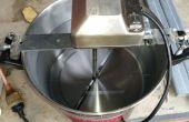 Automatische Pot roerder van BBQ-Spit voor het roeren van maïs mash