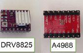 Installeren en configureren van DRV8825 Stepper stuurprogramma's