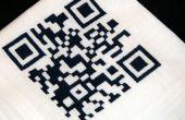 CNC borduurwerk: QR Code