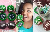Voetbal Party Cupcakes & Marshmallow Pops