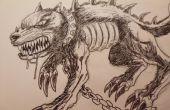 Hoe teken je een Demon hond