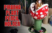Piranha Plant potlood houder