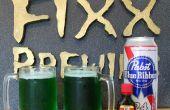 Groene bier thuis maken voor St. Patrick's Day