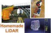 Eenvoudige LiDAR met behulp van de laser-afstandsmeter Uni-T UT390b, Arduino en Turbo Pascal